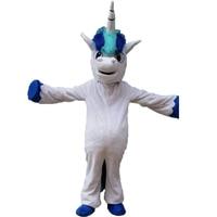 Horse Pnoy Mascot Costume Unicorn Mascot Costume Birthday Party Costume Cosplay Theme Mascotte Carnival Costume Halloween Adult