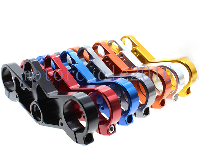 FXCNC CNC Aluminum Motorcycle Lowering Triple Tree Front End Upper Top Clamp 7 Colors For SUZUKI GSXR 600/750 2001-2003 2002