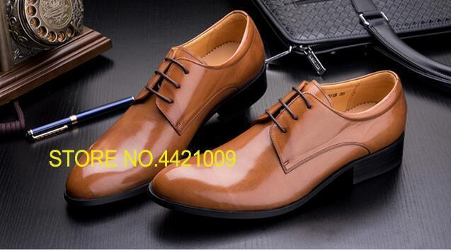 Genuine Leather Derby Oxfords Shoes Wedding Party Prom For Men 2018 Spring Pointed Toe Carved Shoes Man Borgues Oxfords Shoes