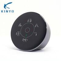 Kinyo 2018 Новые смарт Air quality детектор измеримым формальдегида PM2.5 TVOC CO2 температуры и влажности для очистители воздуха