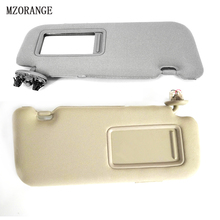 MZORANGE 1 Piece For Toyota Corolla 2007-2013 Sun Visor With A Make-up c06b55d2a23