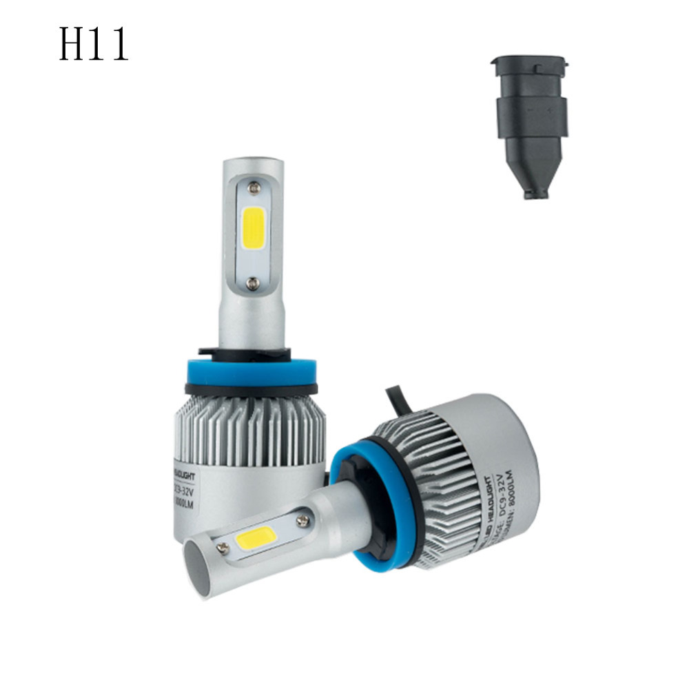 high power H11 led auto koplamp Auto koplamp licht 72 W 6500 K 8000LM - Autolichten - Foto 2