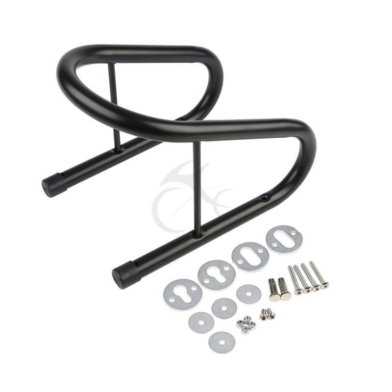 6.5 Black Motorcycle Tire Plated Wheel Chock Removable Cycle Trailer Scooter New Quick Release Mounting Hardware Kit iconbit smart scooter 10 kit black sd 0014k