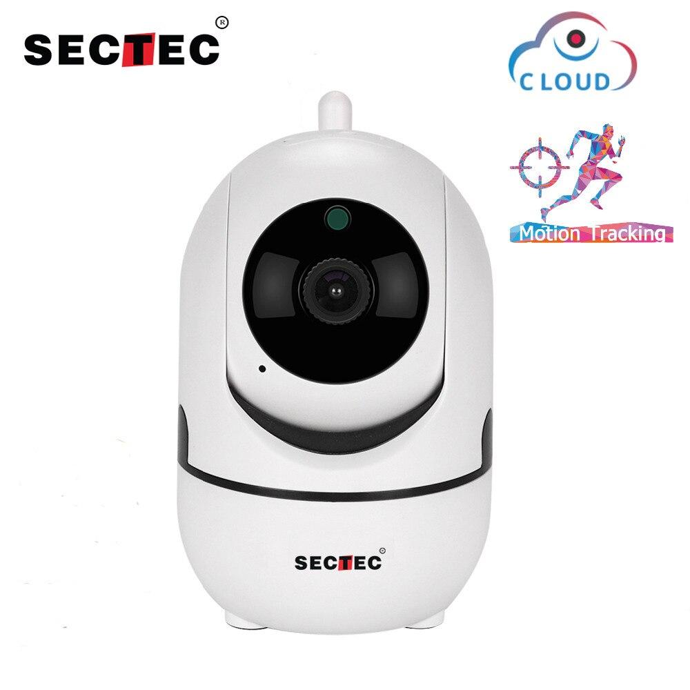 SECTEC 720P Cloud Wireless IP Camera Intelligent Auto Tracking Of Human Home indoor Security Surveillance CCTV