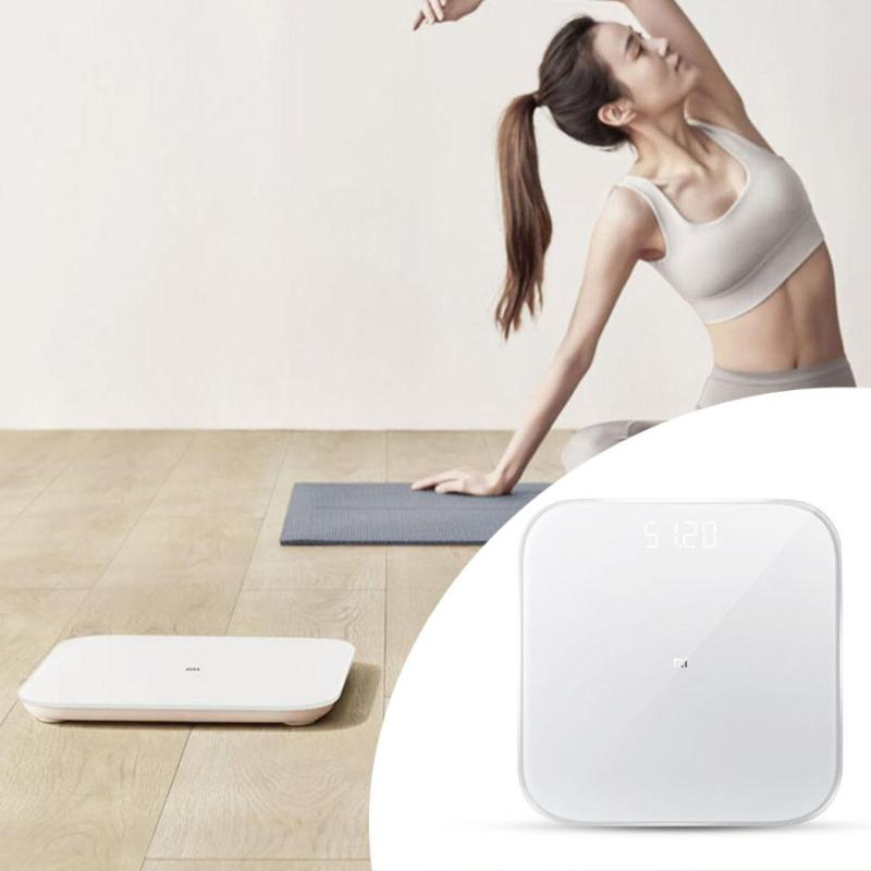 Image 5 - Original Xiaomi Smart Weighing Scale 2 Bluetooth 5.0 Mifit APP Control Precision Health Weight Scale LED Display Digital Scale-in Smart Remote Control from Consumer Electronics