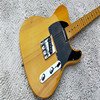 High Quality Transparent Yellow Tele Guitar Ameican Standard Telecaster KPOLE Electric Guitar In Stock On Sale