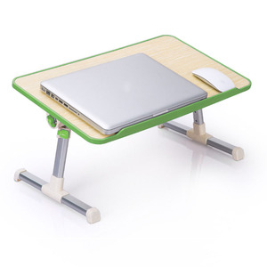 Image 3 - Simple Laptop Table Bed Desk Students Dormitory Reading Studying Desk Folding Lifting Computer Desk Small Table