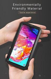 Image 2 - Funda de Metal resistente al agua para Samsung Galaxy A70, funda armadura para Samsung Galaxy A70