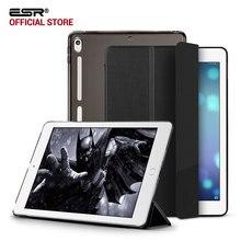 Caso para iPad Pro 10.5, ESR Translucent Nuevo Híbrido de Cuero de LA PU Suave de Parachoques Esquina Slim case Smart Cover para iPad Pro 10.5 pulgadas