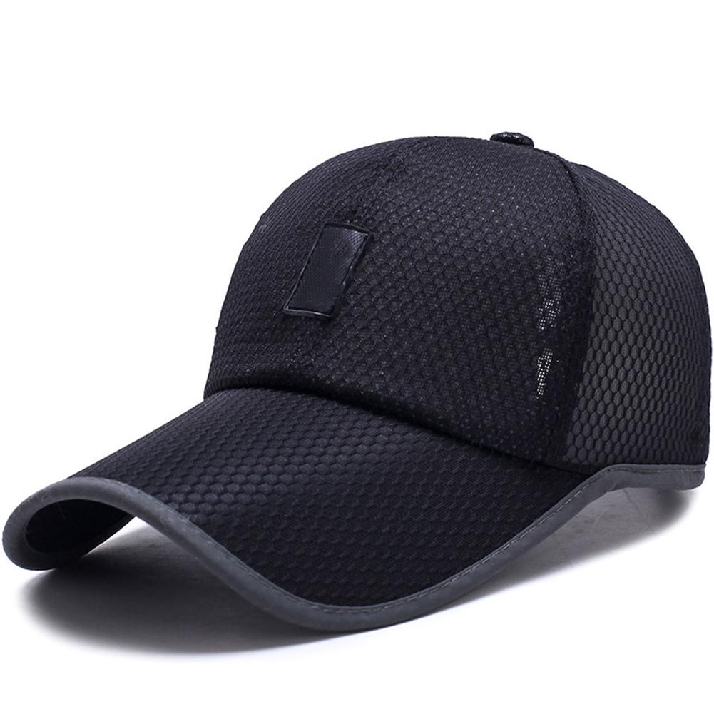Hat Baseball-Caps Mesh Adjustable Women Sunshade Suede Comfortable Outdoor Long