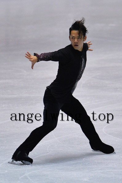 men figure skating dresses for boys competition skating dress custom ice figure dress free shipping trousers and suits