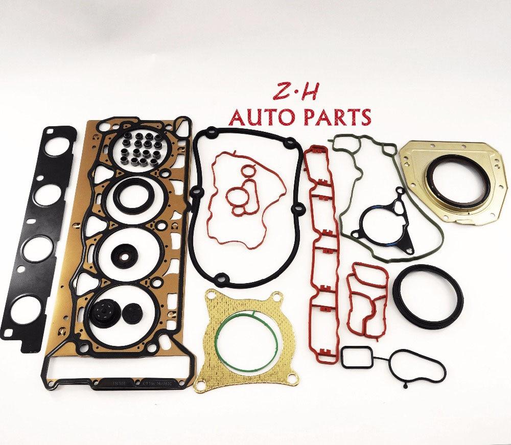 Комплект для ремонта набивкой головки цилиндра двигателя 06J103383D 06J115441A для VW Джетта Гольф Пассат СС Ауди А4 А5 А6 В5 ТТ 2.0 Т два 16В EA888