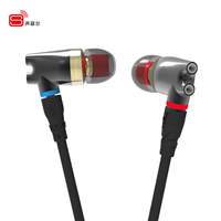2017 Original SENFER DT2 Plus Updated In Ear Earphone Dynamic 2BA Hybrid Drive Headsets HIFI Bass