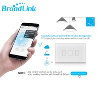 Broadlink Touch Light Switch TC2 3gang Wall Switch Smart Remote Control Controller US UK EU Switch
