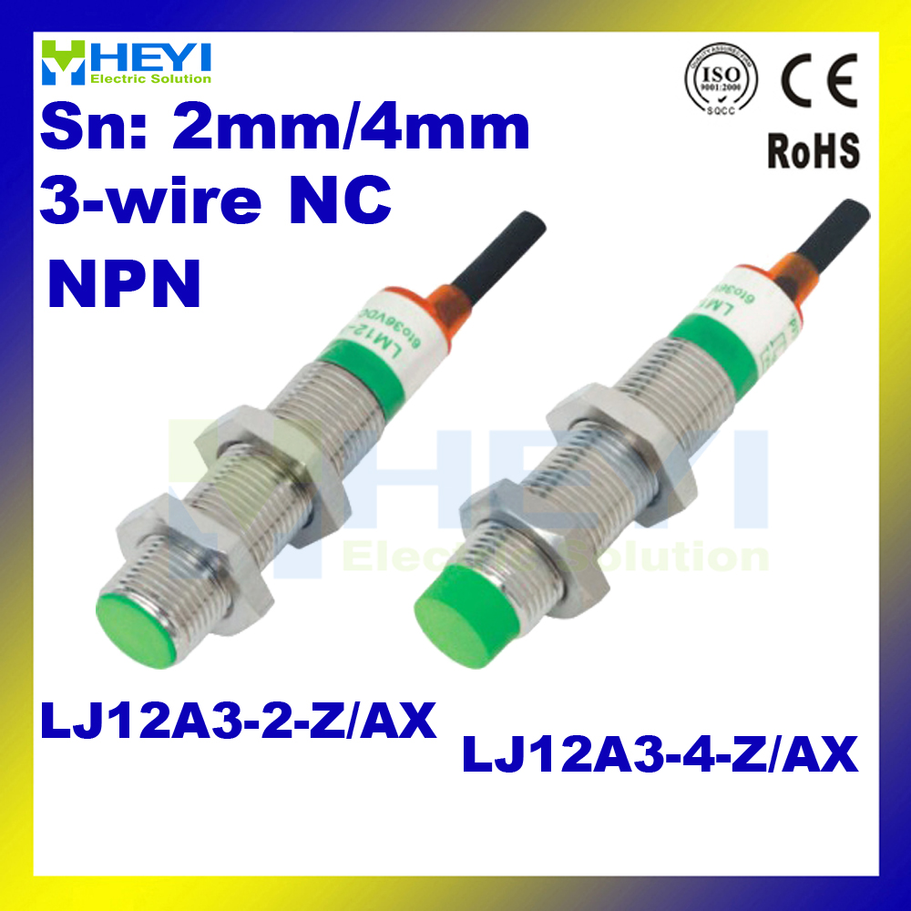 small resolution of lj12a3 4 z ax inductive proximity sensor npn 3 wires nc proximity switch in