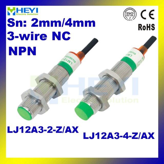 LJ12A3 4 Z AX Inductive Proximity Sensor NPN 3 wires NC Proximity Switch_640x640 lj12a3 4 z ax inductive proximity sensor npn 3 wires nc proximity