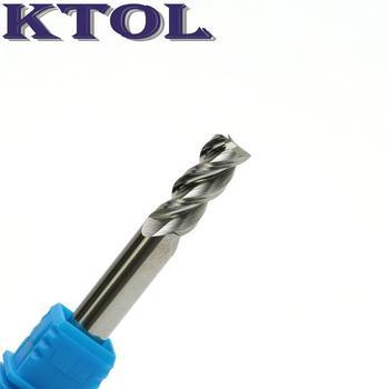 8MM 3 Flute Spiral Router Bits Tungsten Steel Milling Cutters for Aluminum 5pcs Carbide Endmill Aluminium Cutting Bit CNC Tools