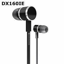 Genuino Beyerdynamic DX 160IE DX160IE en los auriculares del oído auriculares de Alta Fidelidad de graves perfecto sonido Corto diseño de Cable + Cable de Extensión