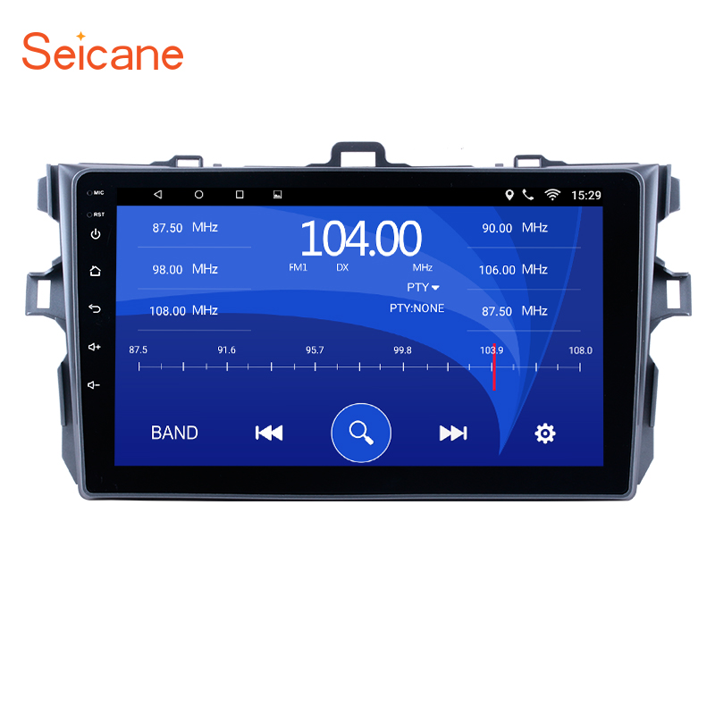 Seicane Car Radio For Toyota Corolla 2006 2007 2008 2009 2010 2011 2012 Android 6.0 9inch 2Din GPS Navigation Multimedia Player toyota auris 2007 2012 corolla 2006 2012 бензин пособие по ремонту и эксплуатации 978 5 88850 574 8