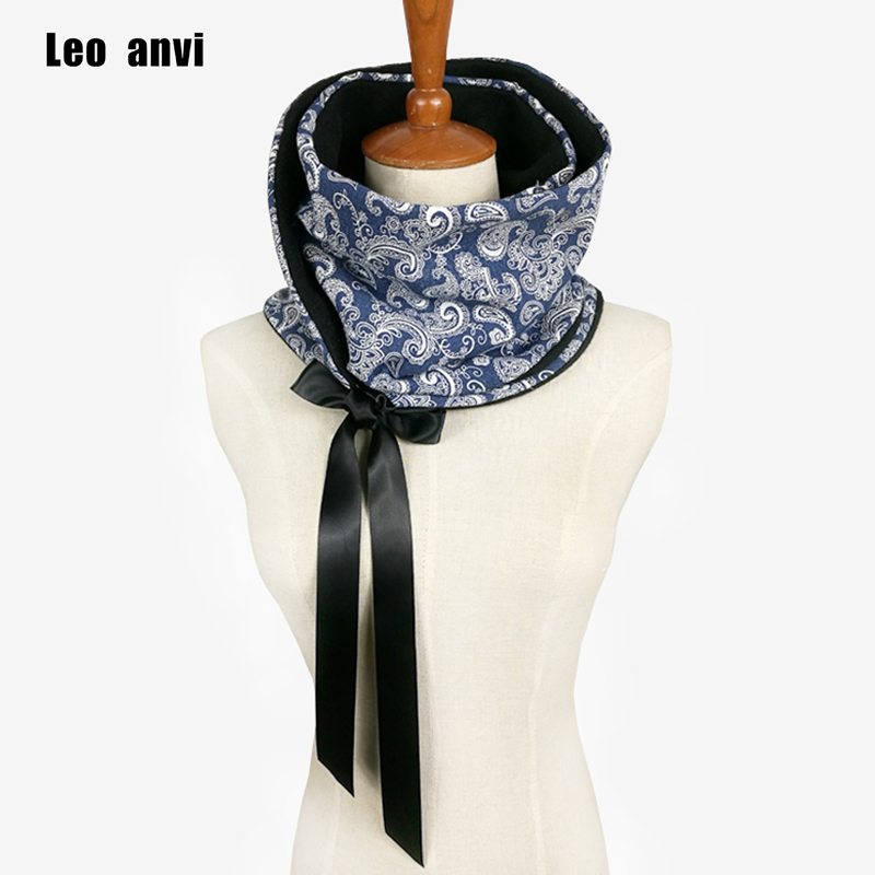√Leo anvi bufanda mujeres Invierno Caliente tubo cachecol inverno ...
