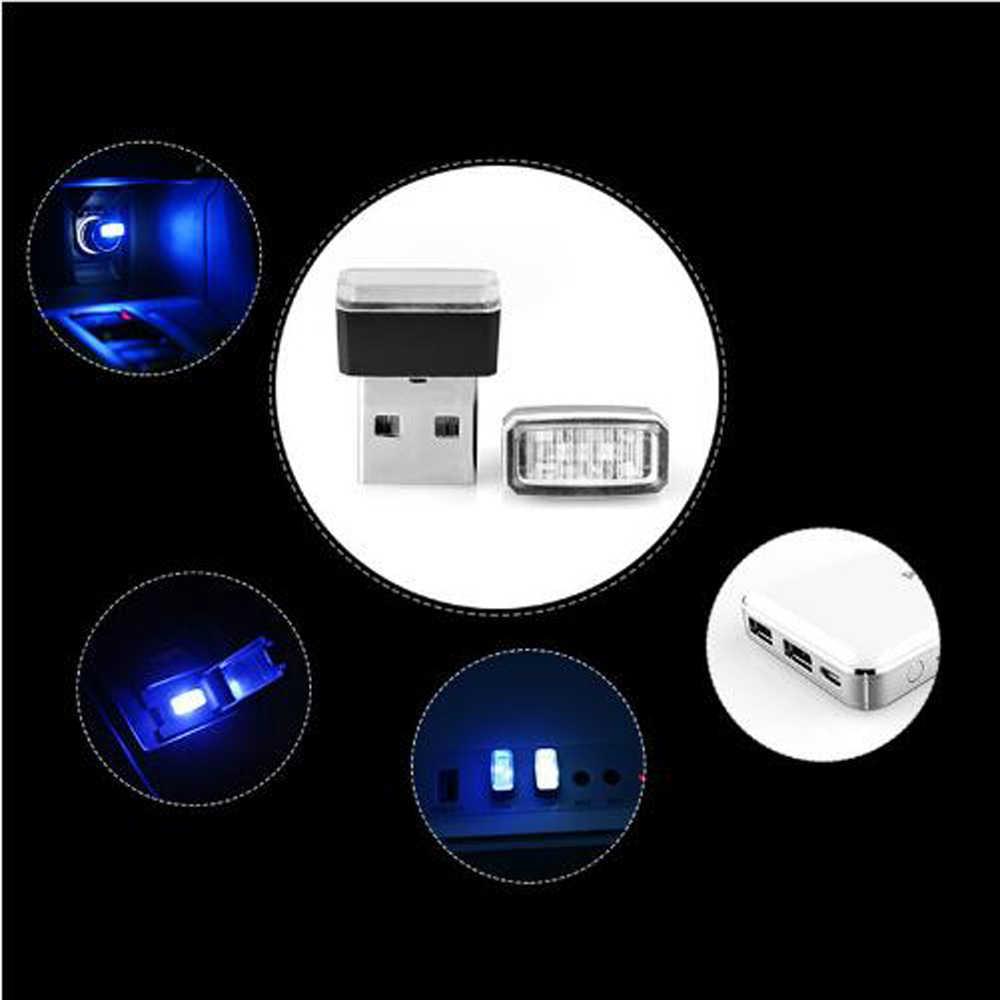 1 pcs Auto-Styling USB Atmosfera HA CONDOTTO LA Luce Accessori Auto Per Mazda 2 5 8 Mazda 3 Axela Mazda 6 Atenza CX-3 CX-4 CX-5 CX5 CX-7
