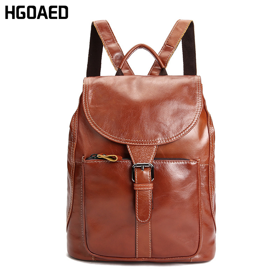 HGOAED Women fashion backpack male travel backpack mochilas school mens leather business bag large laptop shopping travel bag kai yunon women sparrow drawstring beam port backpack shopping bag travel bag aug 24