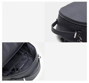 Image 5 - Leather Small Backpack Women 2020 New Female Soft Leather Cowhide Mini Backpack Luxury Fashion Small Bag Tassel Schoolbag Girl