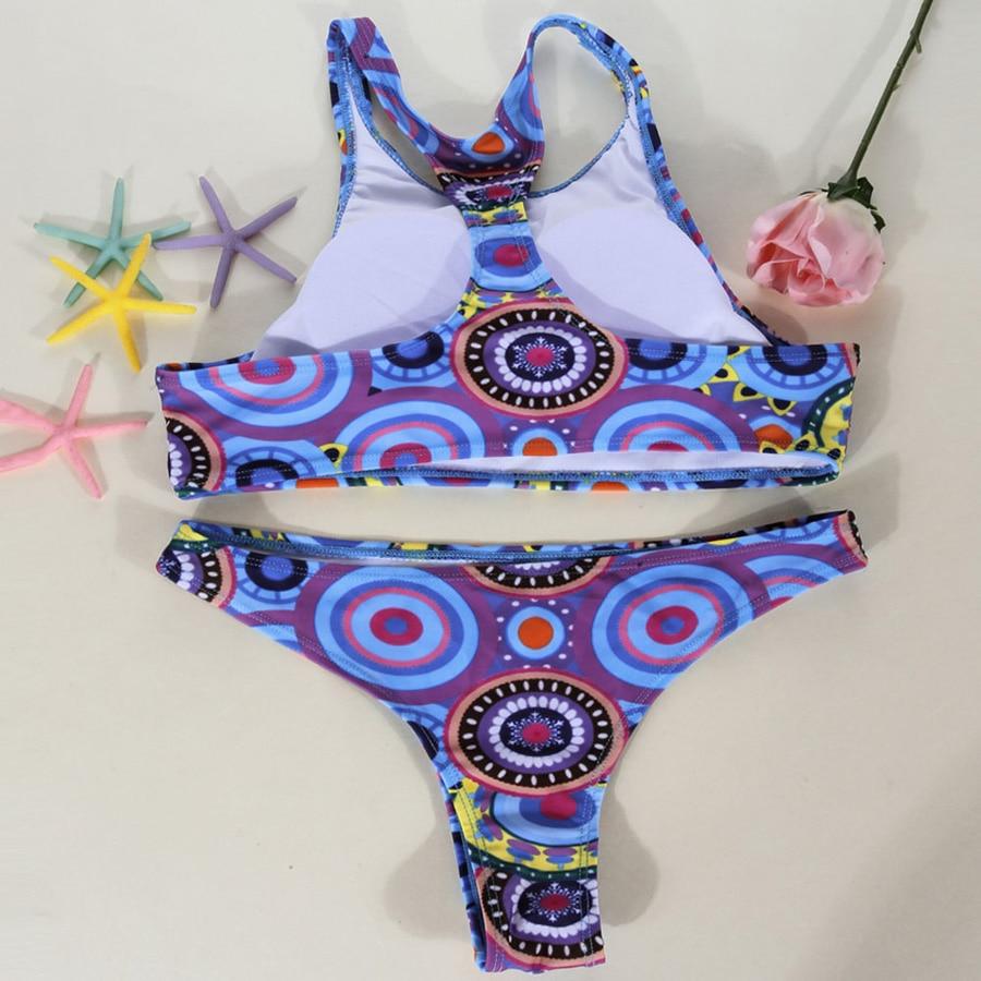 2017 Women Bikini Set Summer Bandage Push Up Padded Bathing Suits Swimwear Swimsuit Beachwear Biquini Hot Sale 2