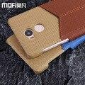 Xiaomi redmi 4 pro case cartera de cuero redmi 4 pro cubierta de nuevo mofi original ranura para tarjeta funda ultra delgada redmi4 pro coque duro