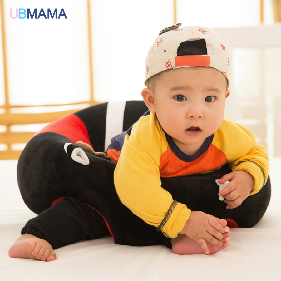 Super Popular 14 Colors New Style High-quality Short Plush Can Hang Toys Learn To Sit Sofa Chair For Baby 0-2 Years