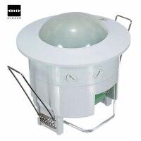 AC 220 V-240 V 50Hz 360 Grad Mini Einbau PIR Decke Belegung Motion Sensor Detektor Schalter Hause haus Werkzeug Tols licht