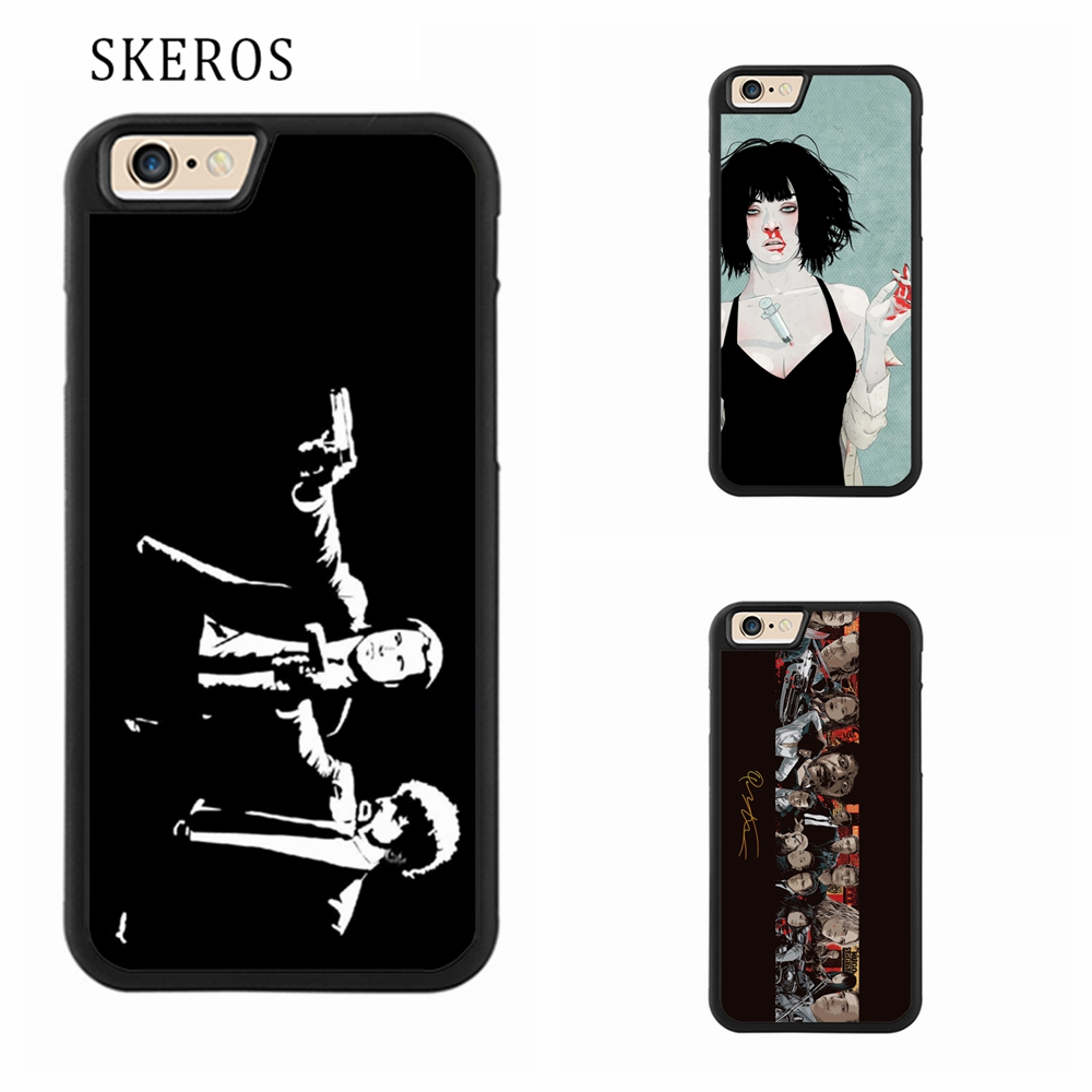 SKEROS Quentin Tarantino Kill Bill Pulp Fiction phone case for iphone X 4 4s 5 5s 6 6s 7 8 6 plus 6s plus 7 plus 8 plus #A90