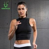 Women Crop Top Cropped Feminino Bra Tank Top Vest Fitness Stretch Women S Workout Tanks Tops