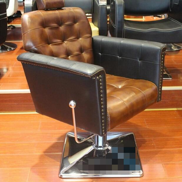 Salões de beleza dedicado cadeira cadeira de cabeleireiro corte de cabelo europeu restaurar antigas formas