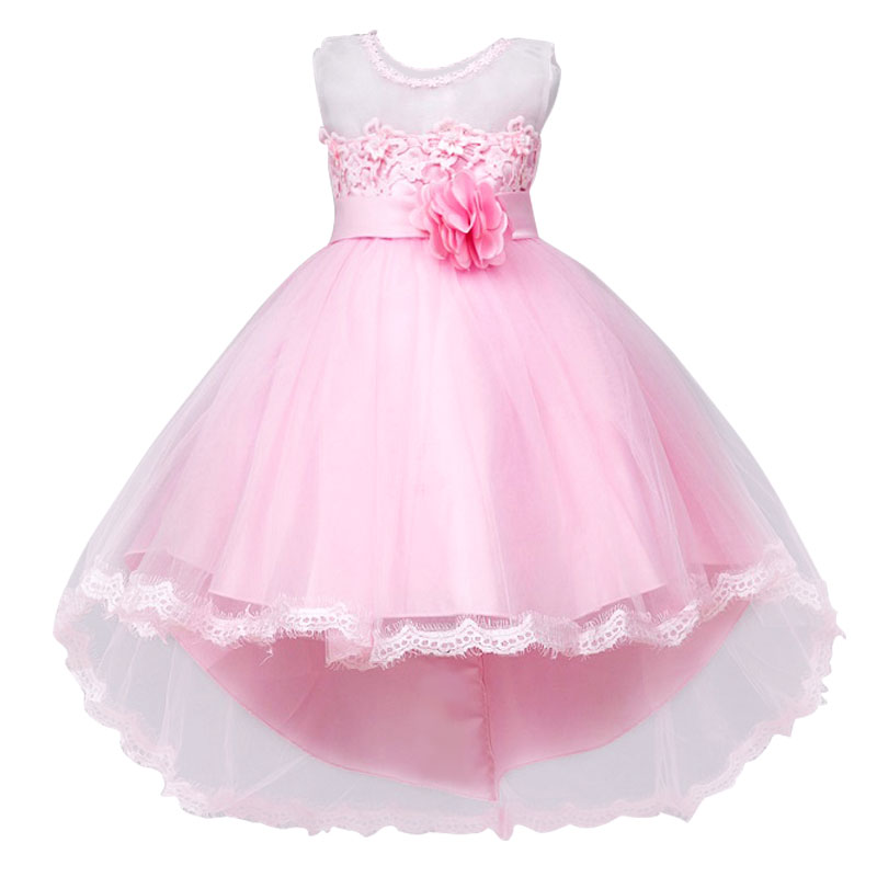 Summer 2017 Girls Clothes Party Frocks For Girls Of Honor Children Flower girl Dresses Princess Children's Costumes Dress Kids girls dress 2017 new summer flower kids party dresses for wedding children s princess girl evening prom toddler beading clothes
