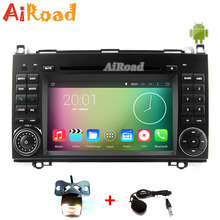 RK3188 Quad Core 1024*600 Android 4.4 Car DVD GPS for Mercedes W169 W245 A Class B200 Sprinter Vito Viano Headunits Autoradio