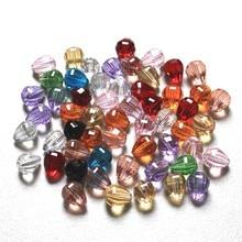 купить 5500 Multi Colors 10*12mm 50pcs/lot Pear Shape Glass Teardrop Crystal Beads DIY Necklaces & Bracelates & Earring Beads по цене 334.61 рублей