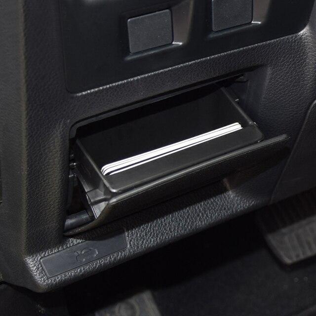 Car Fuse Box Armrest Storage Box Coin Cards Box Tray ...