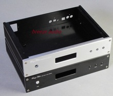 Breeze audio aluminum DAC chassis/case/enclosure 2806R can be fix ES9018 and AK4399