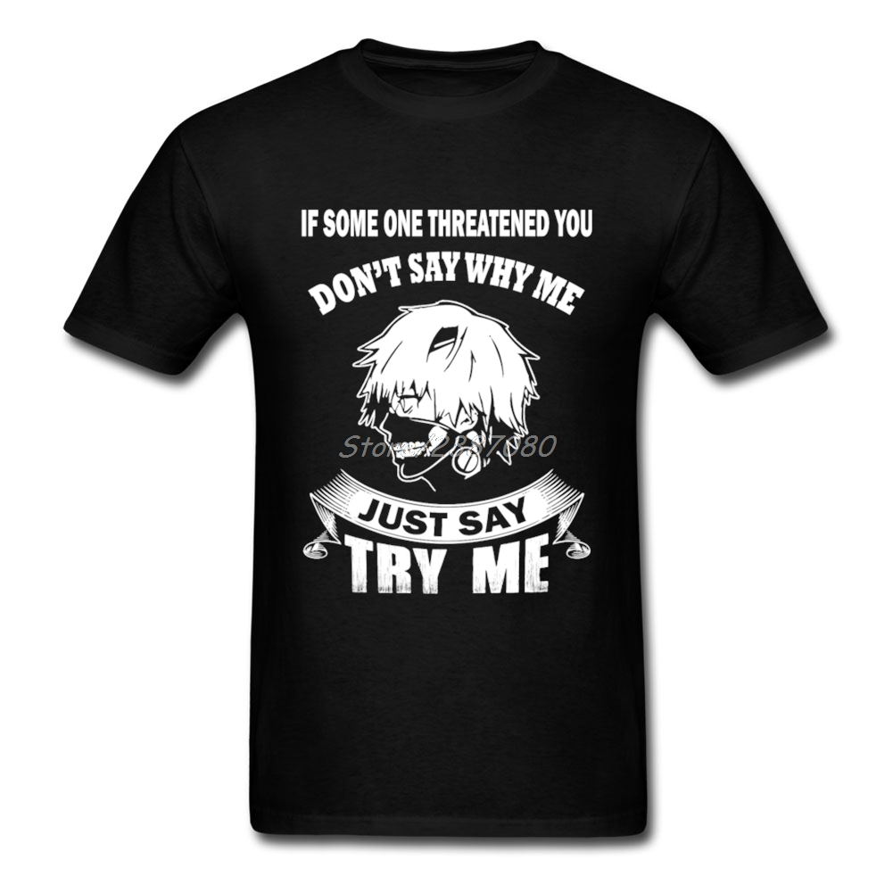 Tokyo Ghoul T Shirt 3XL Short Sleeve Men's T-shirts Top Casual O-neck Cotton Tee Shirts Homme