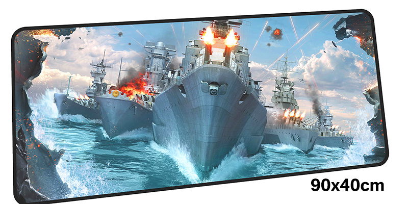 warship mousepad gamer 900x400X3MM gaming mouse pad large HD pattern notebook pc accessories laptop padmouse ergonomic mat
