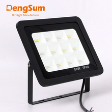 [DENGSUM]LED Floodlight 30W 50W 100W 150W Ultra Thin Led Flood Light Spotlight Outdoor 220V IP66 Wall Lamp