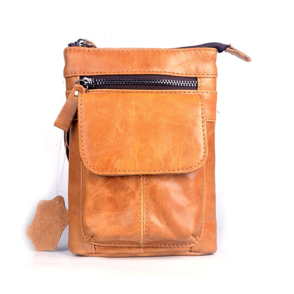 2016 New men's messenger bags Genuine leather waist bags the first layer cowhide shoulder bags fashion casual crossbody bags 2016 new fashion men s messenger bags 100% genuine leather shoulder bags famous brand first layer cowhide crossbody bags