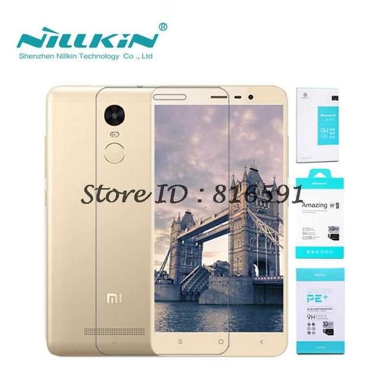 Xiaomi Redmi Note 3 Tempered Glass Nillkin Amazing H+Pro Screen Protector For Xiaomi Redmi Note 3 Pro Prime Note3 5.5 inch 150MM