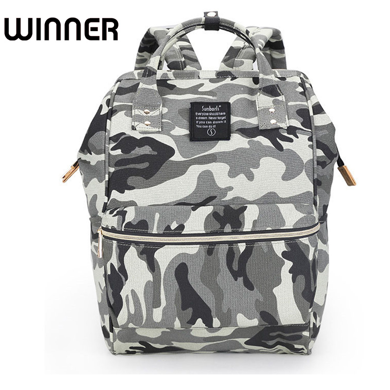 Brand Classic Women SchoolBag Travel Brand Camouflage Lovers School Backpack Oxford Shoulder Backpack Bag for Teenagers Girls women s classic backpack