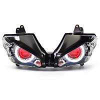 KT LED Headlight Assembly for Triumph Daytona 675 675R 2009 2012