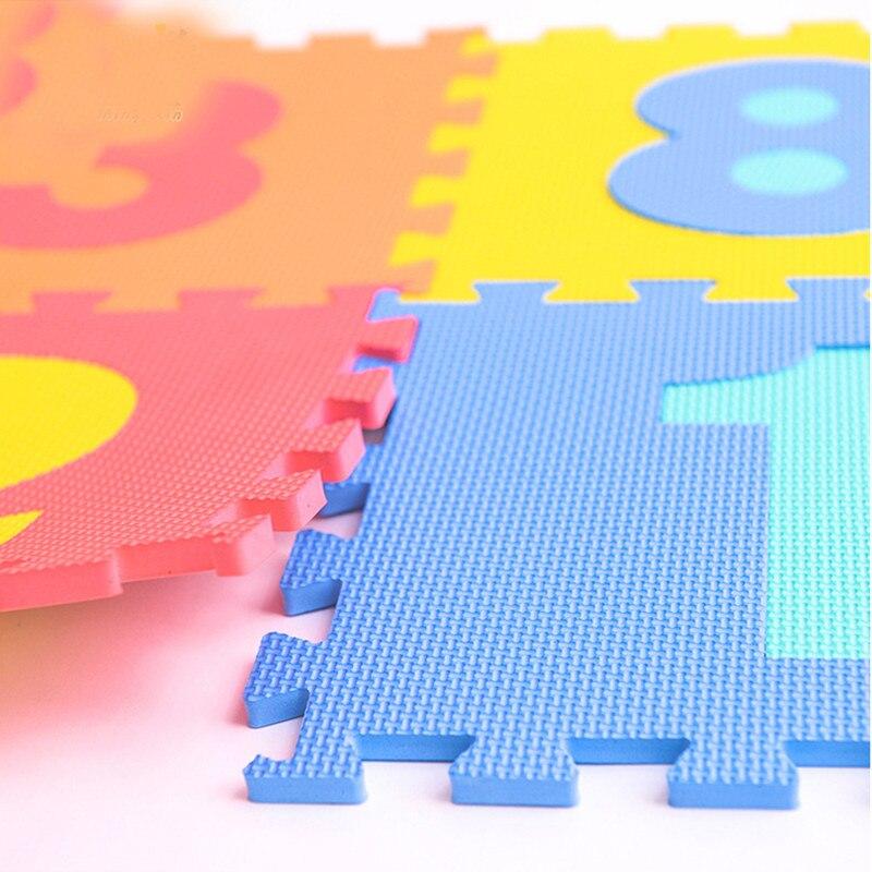 Offres spéciales numéro de mousse de haute qualité + lettres Alphabet ABC tapis de Puzzle de sol tapis enfants jeux de chambre tapis alfombras cadeaux - 5