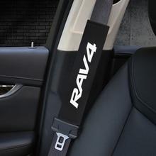 Автомобильный Стайлинг защиты подушки под плечи чехол для Toyota RAV4 авто чехол наклейки аксессуары для автомобиля-Стайлинг