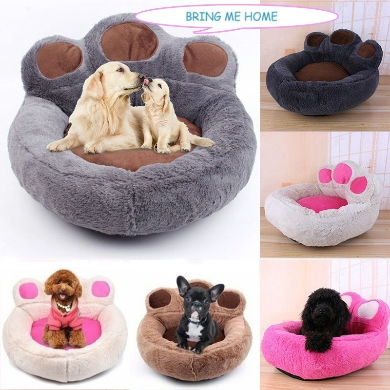 Strange 2019 Winter Warm Fleece Dog Bed Round Small Medium Large Dog Beds Extra Large Pet Plush Mats Soft Bear Shaped Cat House Supplies From Linita 21 98 Theyellowbook Wood Chair Design Ideas Theyellowbookinfo