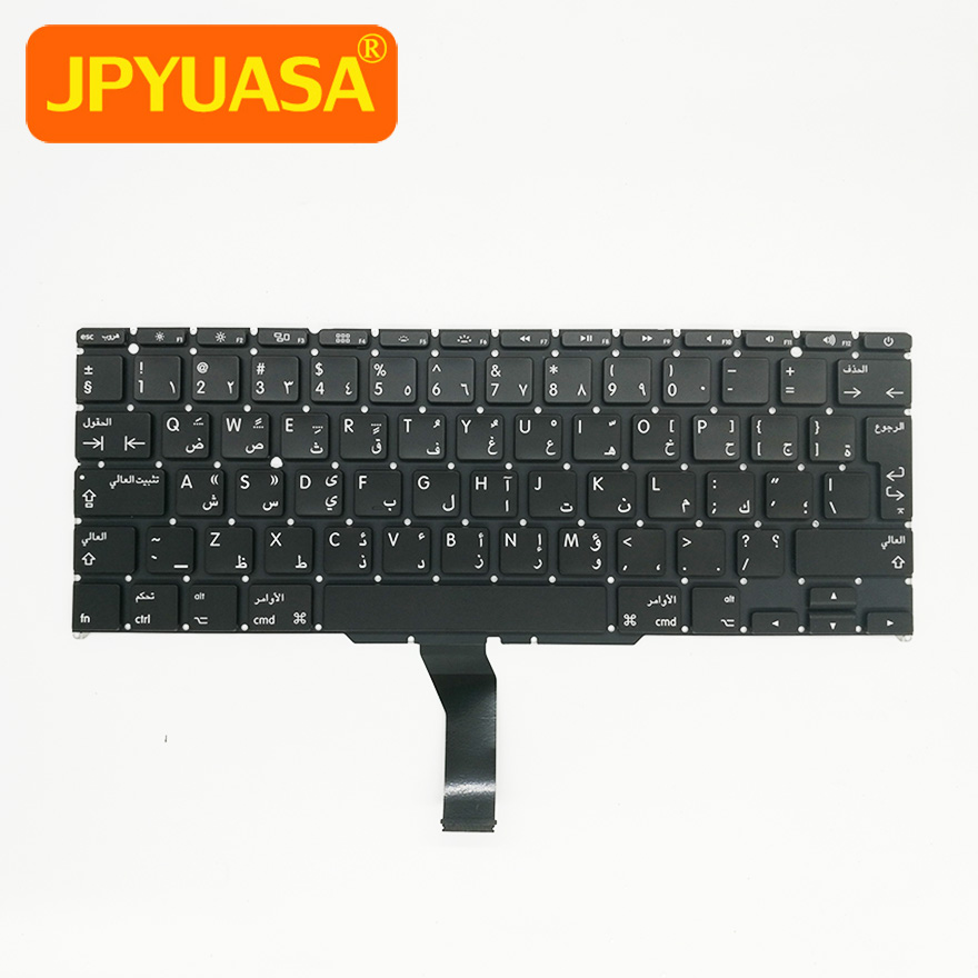 5pcs/lot New A1370 A1465 Arabic AR Keyboard For Apple Macbook Air 11 A1465 A1370 Keyboard Replacement 2011-2015 Year ...